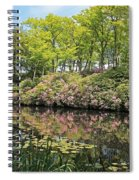 Moore State Park Water Reflections Spiral Notebook