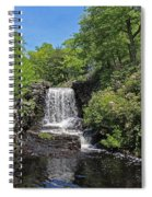 Moore State Park Waterfall 3 Spiral Notebook