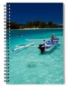 Moorea Lagoon No 12 Spiral Notebook