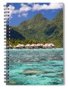 Moorea Lagoon No 3 Spiral Notebook