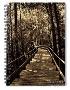 Moores Creek Battlefield Nc Swamp Walk  Spiral Notebook