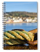 Mooring Lines Spiral Notebook