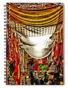 Moorish Market In Granada 2 Spiral Notebook