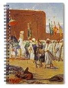 Moorish Procession Spiral Notebook