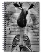 Moose Cabin Spiral Notebook
