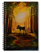 Moose Hideout Spiral Notebook