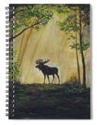 Moose Magnificent Spiral Notebook