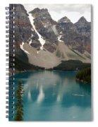 Moraine Lake - Alberta - Canada Spiral Notebook