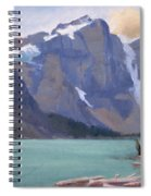 Moraine Lake Banff Spiral Notebook