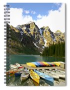 Moraine Lake Spiral Notebook