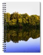 Moraine View State Park Pano 20140718-01 Spiral Notebook