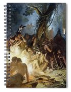 Moravian Missionary Spiral Notebook