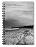 More Beach Tracks Spiral Notebook