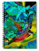 More Dragonfly Art Spiral Notebook