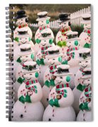 More Snowmen Spiral Notebook