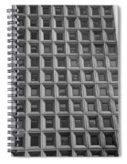 More Windows In Black And White Spiral Notebook