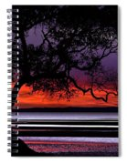 Moreton Bay View Spiral Notebook