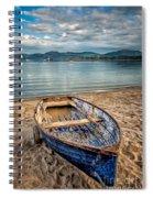 Morfa Nefyn Boat Spiral Notebook