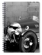 Morgan B And W Spiral Notebook