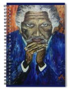 Morgan Freeman Spiral Notebook