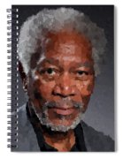 Morgan Freeman Spiral Notebook