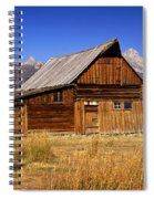 Mormaon Barn 3 Spiral Notebook