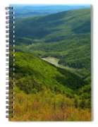 Moormans River Overlook In Spring Spiral Notebook