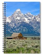Mormon Row Spiral Notebook