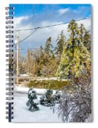Morning After The Ice Storm Spiral Notebook