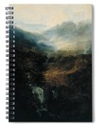 Morning Amongst The Coniston Fells Spiral Notebook