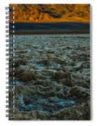 Morning At Badwater Spiral Notebook