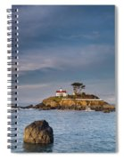 Morning At Battery Point Lighthouse Spiral Notebook