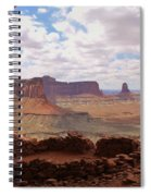 Morning At False Kiva Spiral Notebook