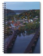Morning At Harpers Ferry Spiral Notebook