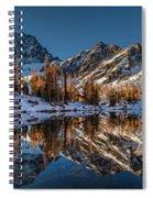 Morning At Horseshoe Lake Spiral Notebook