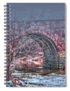 Morning At Manassas Spiral Notebook