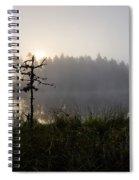 Morning At Pitkajarvi Spiral Notebook