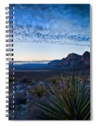 Morning At Red Rock Spiral Notebook