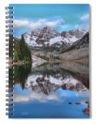 Morning At The Bells Spiral Notebook