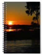 Morning At The Marsh 2 Spiral Notebook