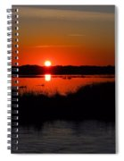 Morning At The Marsh Spiral Notebook
