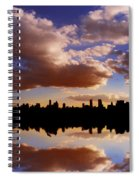 Morning At The Reservoir New York City Usa Spiral Notebook