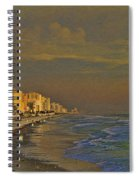 Morning Beach Walk Spiral Notebook