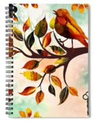 Morning Bird Spiral Notebook