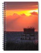 Morning Blind Spiral Notebook
