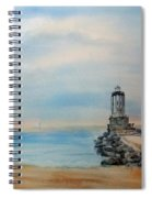Angel's Gate Lighthouse Spiral Notebook