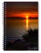 Morning By The Shore Spiral Notebook