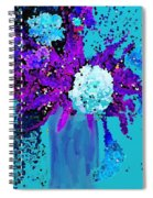 Morning Callas And Orchids  Spiral Notebook