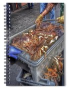 Morning Catch Spiral Notebook