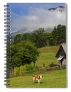 Morning Cow Spiral Notebook